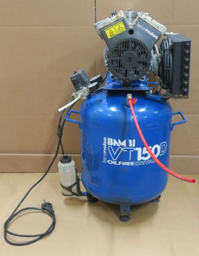 Bambi VT150D Dental Air Compressor -Oil-Free DryAir Low Noise 50L 1.5HP 175L/min